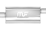 "MagnaFlow Universal Muffler - 2.5"" Inlet/Outlet - 5"" x 8"" Oval Body - 14"" Long (12226) - Ace Race Parts"