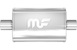 "MagnaFlow Universal Muffler - 2.5"" Inlet/Outlet - 4"" x 9"" Oval Body - 14"" Long (11216) - Ace Race Parts"