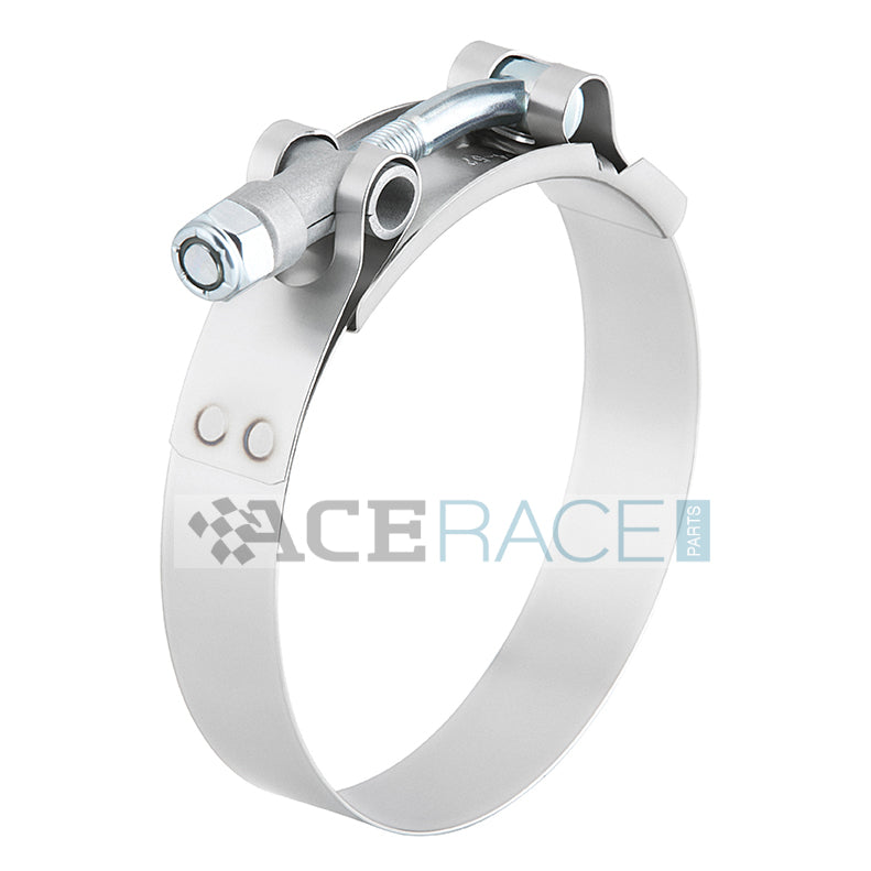 "1.500"" T-Bolt Clamp 304 Stainless - Ace Race Parts"