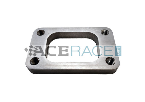 T3 Turbo Inlet Flange 304 Stainless (Tapped Holes) - Ace Race Parts