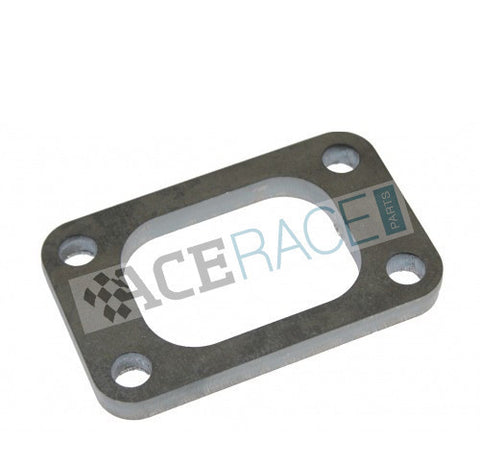 T3 Turbo Inlet Flange Mild Steel (Drilled Holes) - Ace Race Parts