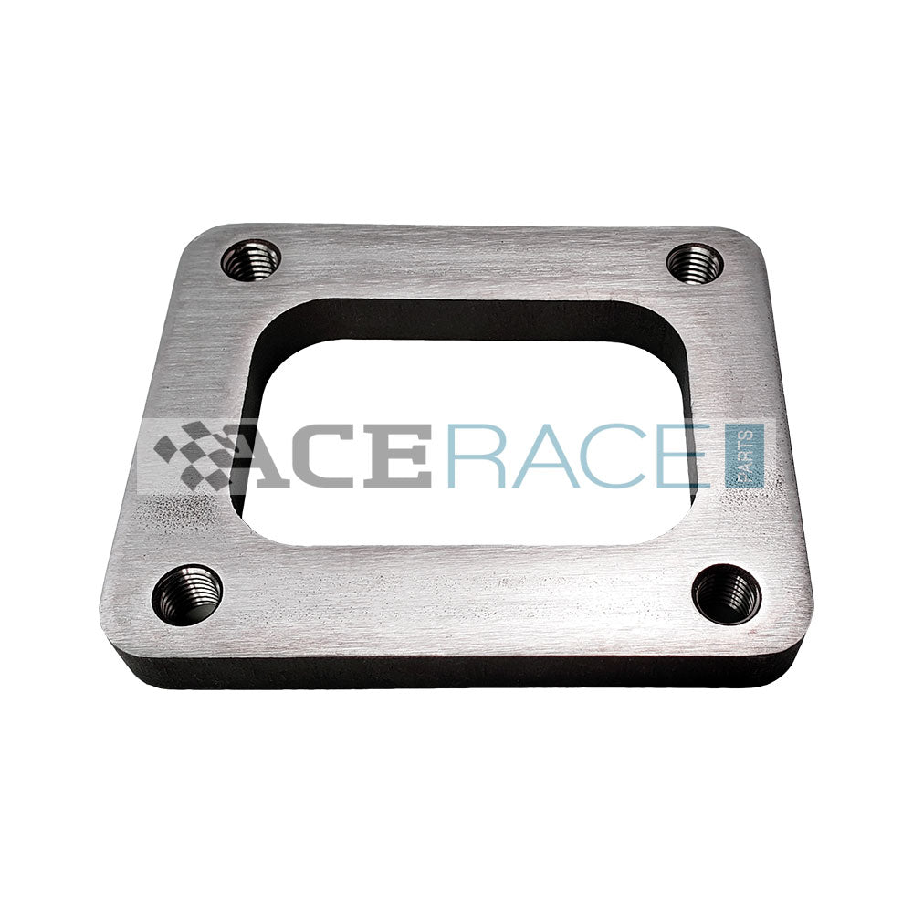 T4 Turbo Inlet Flange Mild Steel (Tapped Holes) - Ace Race Parts