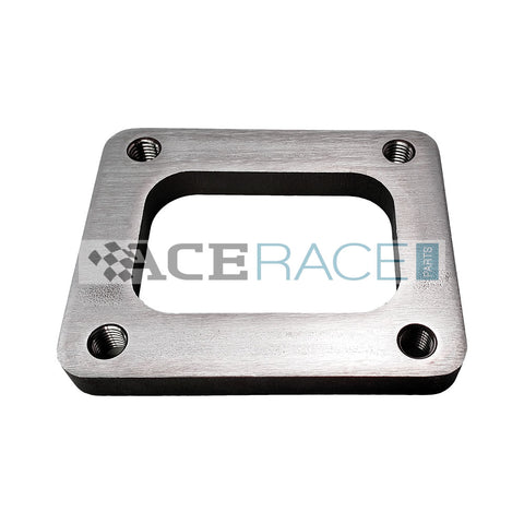 T4 Turbo Inlet Flange 304 Stainless (Tapped Holes) - Ace Race Parts