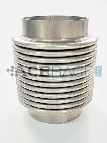 "3.000"" Flex Bellow Assembly CP2 Titanium - Ace Race Parts"