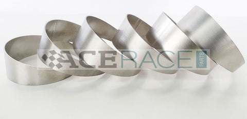 "2.500"" OD x 0.047"" (1.2mm) Long Radius (1.5D) Pie Cut CP1 Titanium (90° Bend - 6 Pieces Total) - Ace Race Parts"
