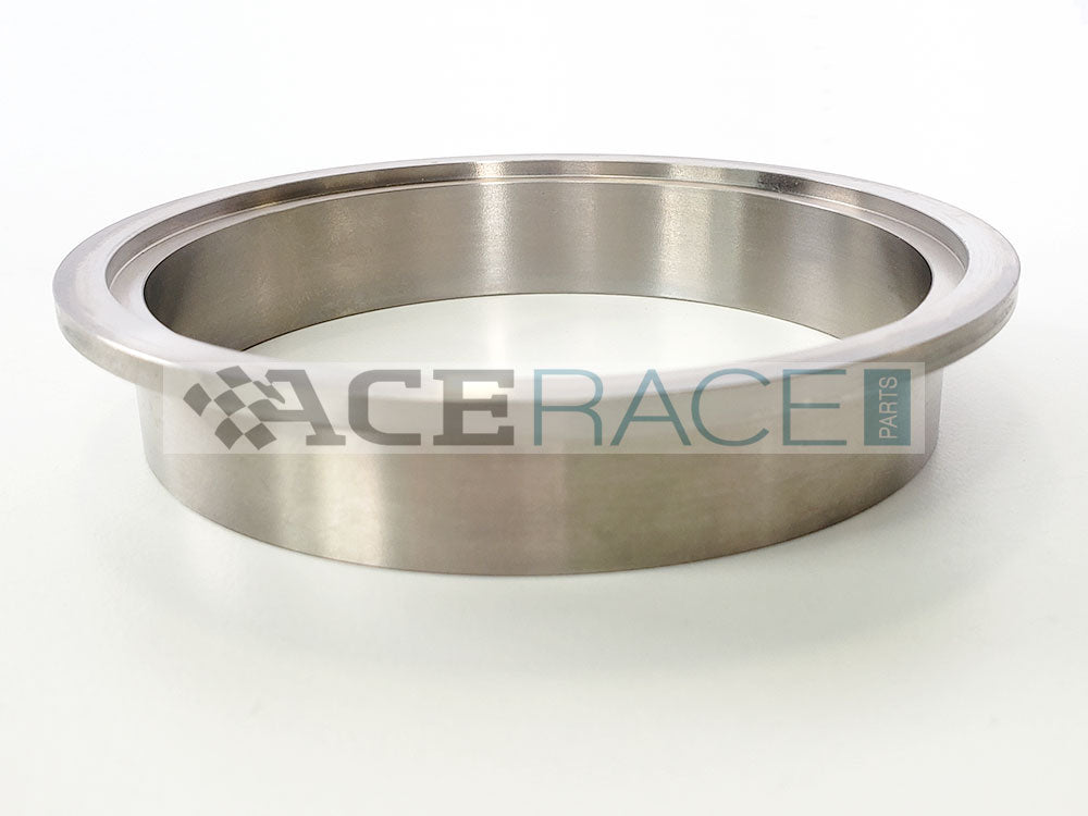 "3.500"" V-Band ""Female"" Flange CP2 Titanium - Ace Race Parts"