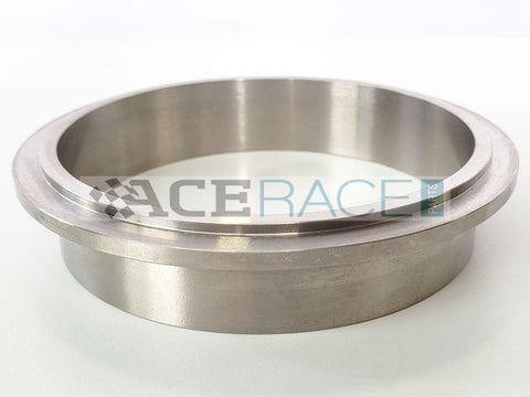 "3.000"" V-Band ""Male"" Flange CP2 Titanium - Ace Race Parts"
