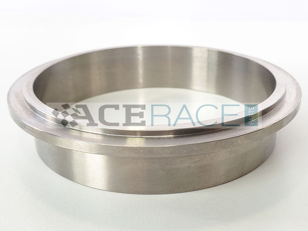 "3.500"" V-Band ""Male"" Flange CP2 Titanium - Ace Race Parts"