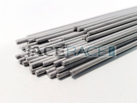 "0.063"" (1.6mm) TIG Welding Wire x 39"" (1 meter) Length - CP1 Titanium - 1/4LB Bundle - Ace Race Parts"