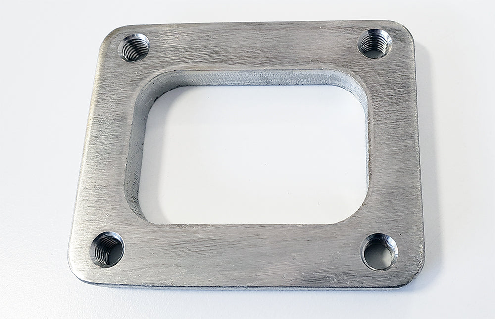 T4 Turbo Inlet Flange 304 Stainless (Tapped Holes) | Ace Race Parts