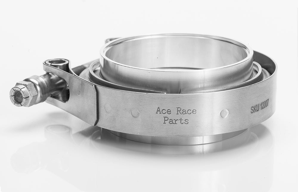 "4.000"" V-Band Assembly Aluminum/Stainless Combination 