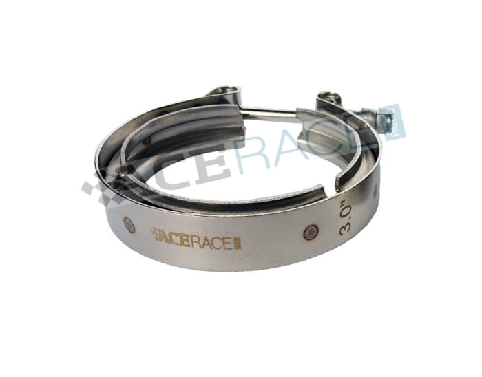 "2.750"" V-Band Clamp 304 Stainless - Standard Clamp - Ace Race Parts"