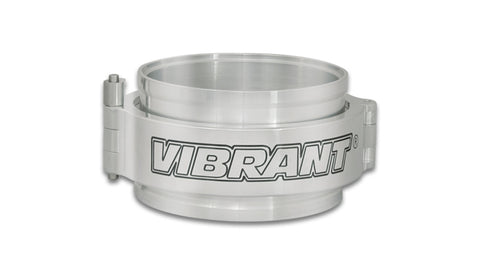 "Vibrant VanJen HD Clamp Assembly for 5.000"" OD Tubing - Polished Clamp"