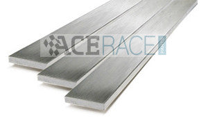 "3/16"" x 1"" Flat Bar 304L x 6' Long (2 pieces x 3' long) - Ace Race Parts"
