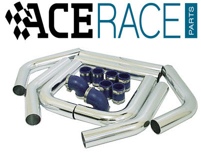 "2.500"" Universal Intercooler Piping Kit - Type B - Ace Race Parts"