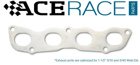 Honda K-Series Exhaust Manifold Flange Mild Steel - Ace Race Parts