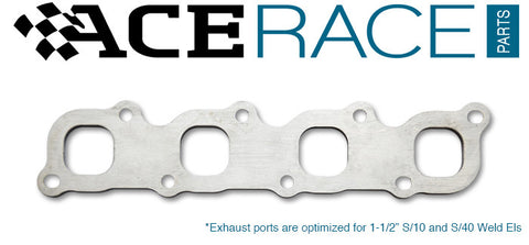Nissan KA24 Exhaust Manifold Flange Mild Steel - Ace Race Parts