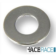 "1/4"" Flat Washer 18-8 Stainless Steel (PKG: 50 pcs) - Ace Race Parts"