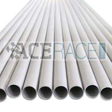 "1"" Schedule 40 Welded Pipe 304L - 3'-0"" Length - Ace Race Parts"