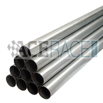 "2.125"" OD x 16ga Welded Tube 304L - 1'-0"" Length - Ace Race Parts"