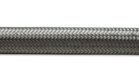 "Vibrant Stainless Steel Braided Flex Hose - 5'-0"" Roll - (Select Size) - Ace Race Parts"