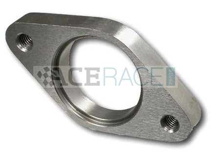 35-38mm Wastegate Flange 304L Stainless (threaded) - Ace Race Parts