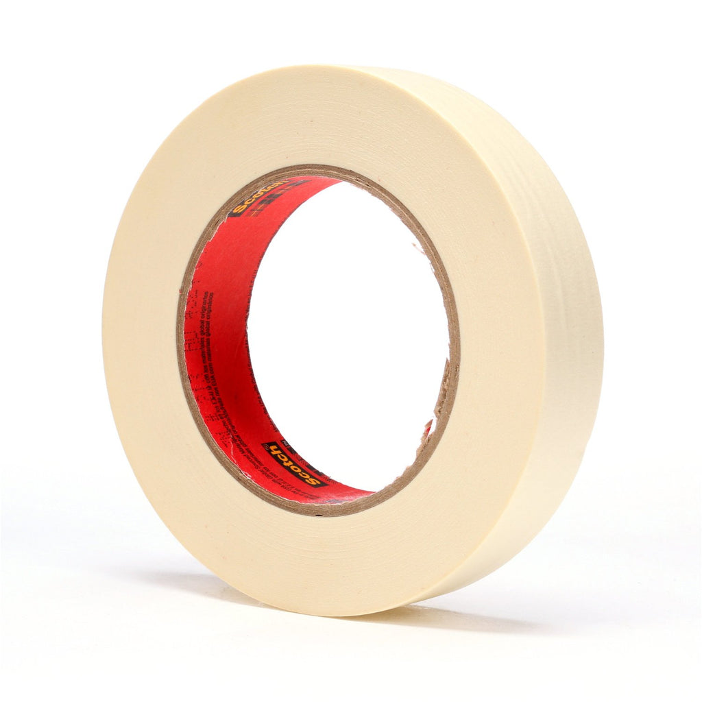 Scotch High Performance Masking Tape 213, 1 in x 60 yd, 36 per c