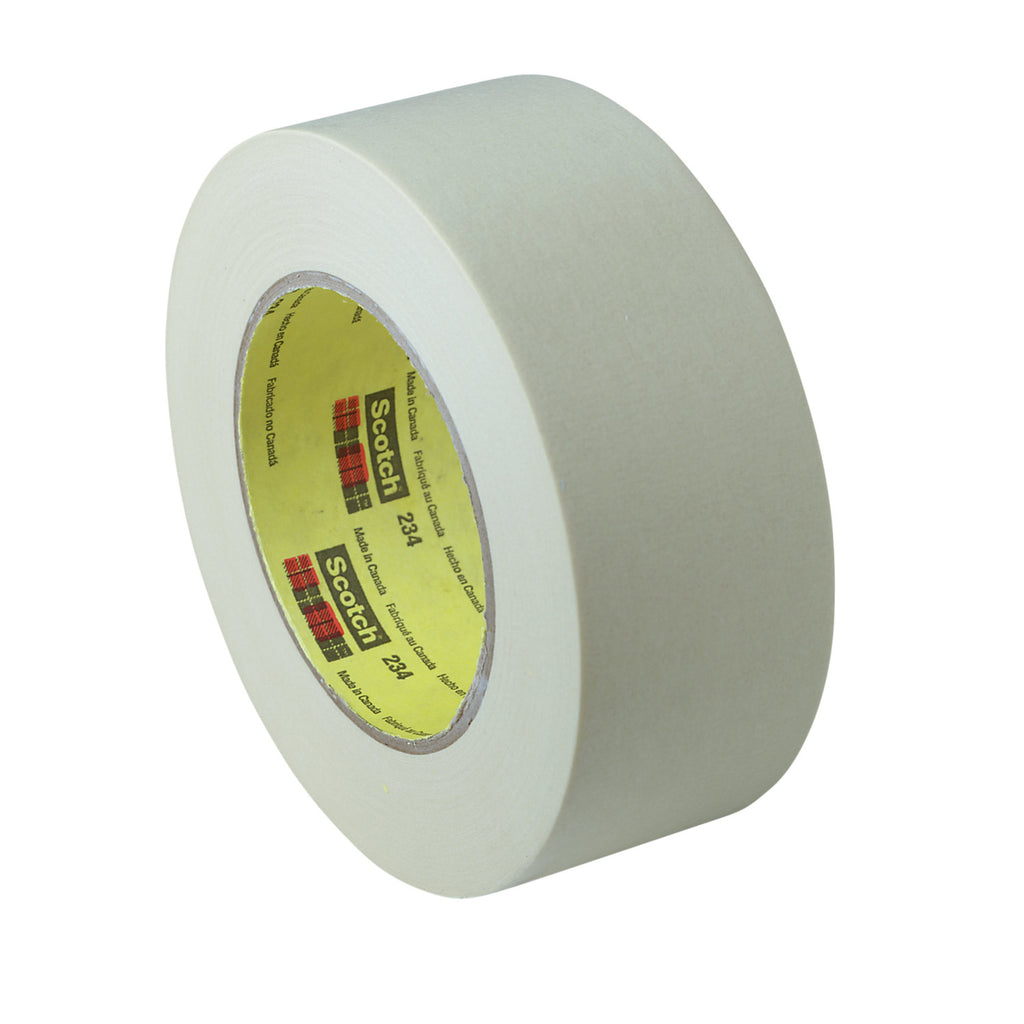 Scotch General Purpose Masking Tape 234 Natural, 18 mm x 55 m, 4