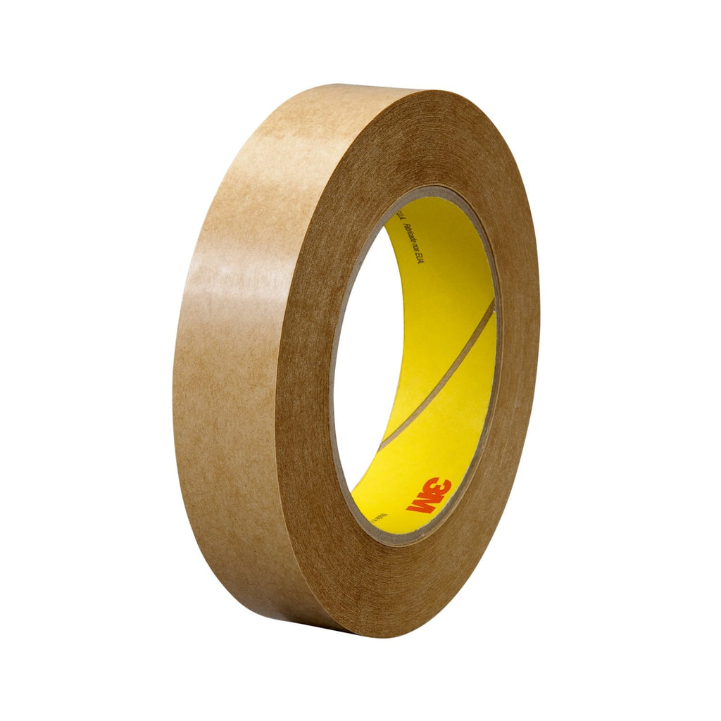 3M Adhesive Transfer Tape 463 Clear, 1/2 in x 60 yd 2.0 mil, 72