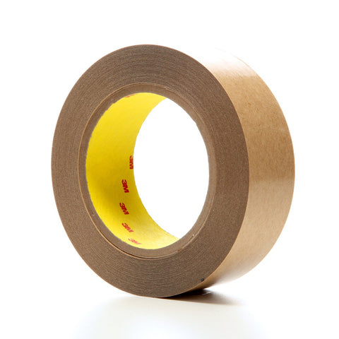 3M Double Coated Tape 415 Clear, 1 1/2 in x 36 yd 4.0 mil, 24 ro
