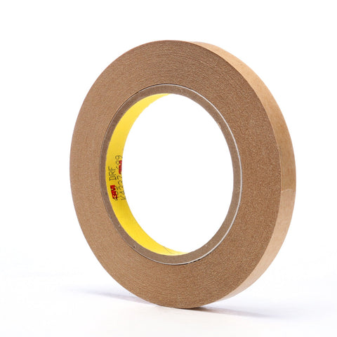 3M Adhesive Transfer Tape 465 Clear, 1/2 in x 60 yd 2.0 mil, 72
