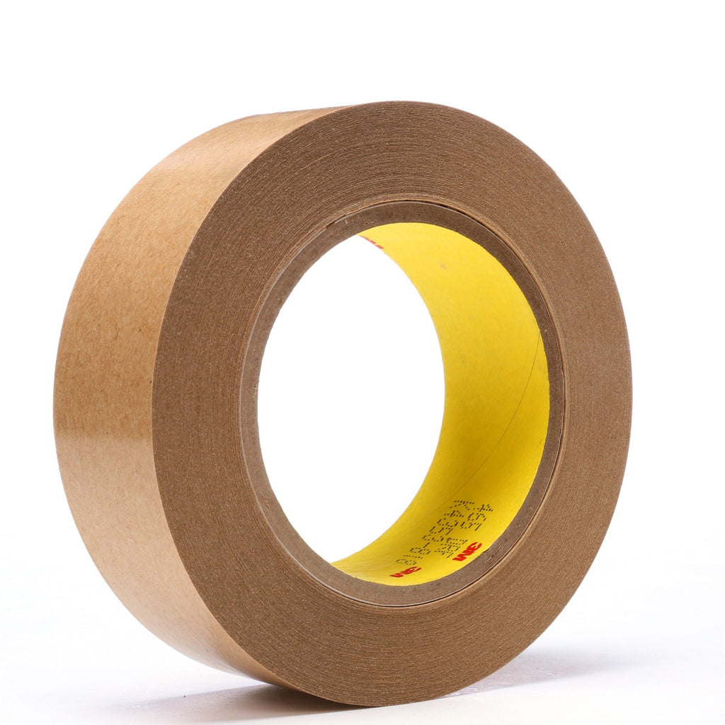 3M Adhesive Transfer Tape 465 Clear, 1 1/2 in x 60 yd 2.0 mil, 2
