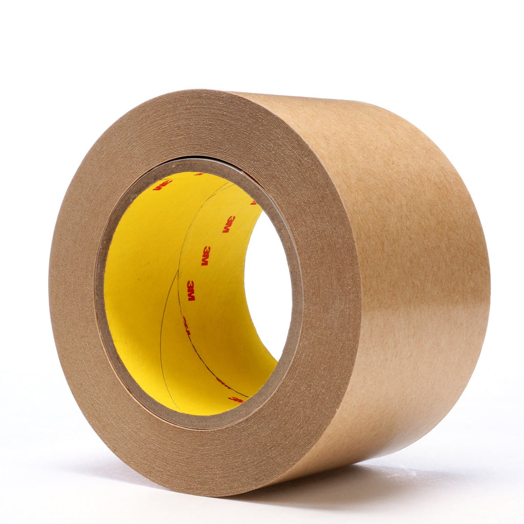 3M Adhesive Transfer Tape 465 Clear, 3 in x 60 yd 2.0 mil, 12 pe