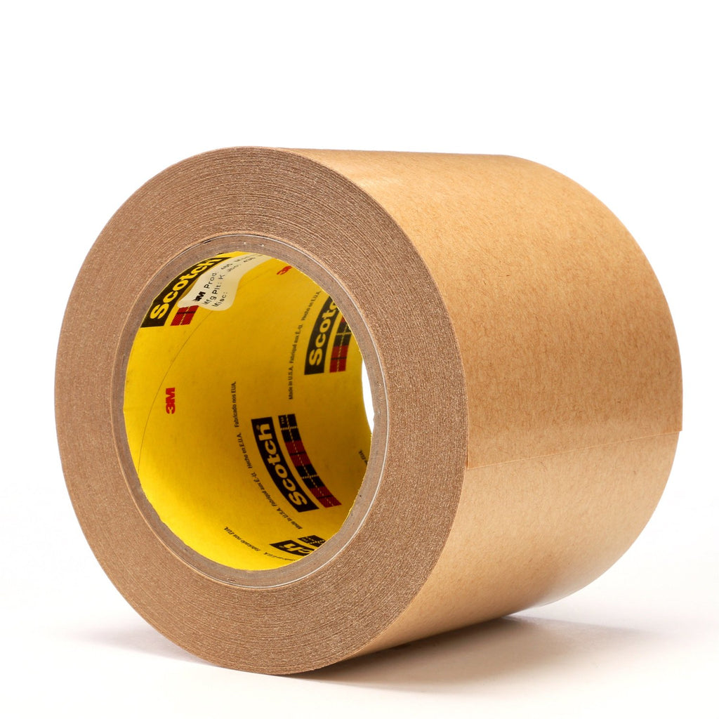 3M Adhesive Transfer Tape 465 Clear, 4 in x 60 yd 2.0 mil, 8 per