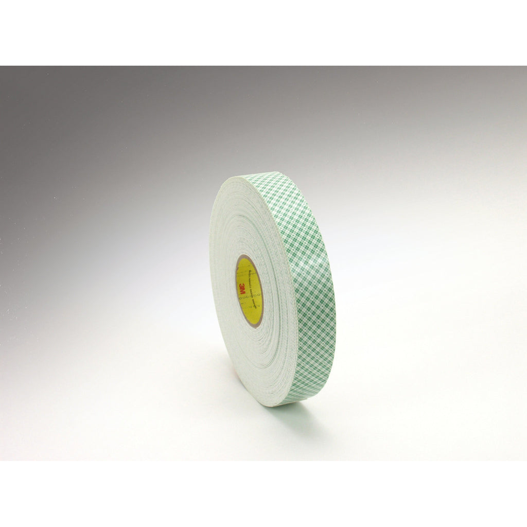 3M Double Coated Urethane Foam Tape 4016 Off-White, 3/8 in x 36