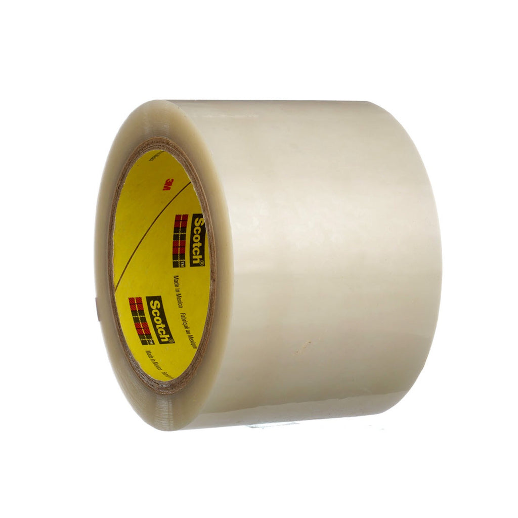 3M Polyester Film Tape 853 Transparent, 3 in x 72 yd 2 2 mil, 12