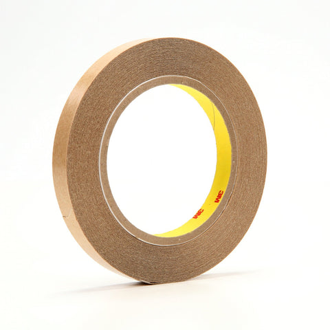 3M Double Coated Tape 415 Clear, 1/2 in x 36 yd 4.0 mil, 72 roll