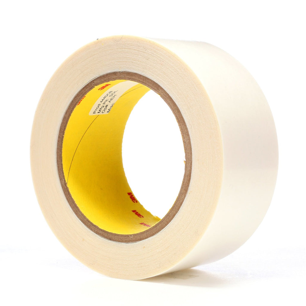 3M Double Coated Tape 444 Clear, 2 in x 36 yd 4.0 mil, 24 rolls