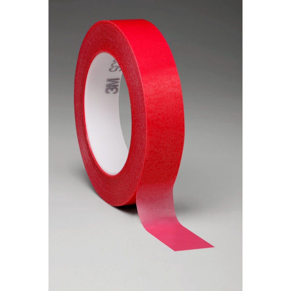3M Circuit Plating Tape 1280 Red, 1/2 in x 72 yd 4.2 mil, 72 per
