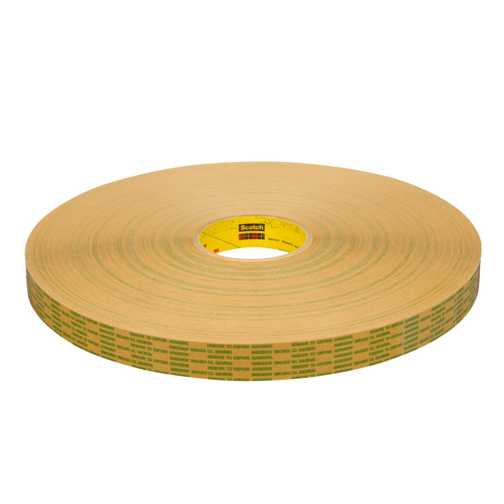 3M Adhesive Transfer Tape Extended Liner 465XL Trans, 1/2 in x 6