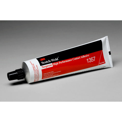 3M Scotch-Weld Neoprene HP Contact 1357 Gry-Grn, 5 oz Tube