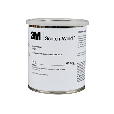 3M Scotch-Weld Epoxy Adhesive EC1469 Cream, 1 qt Container