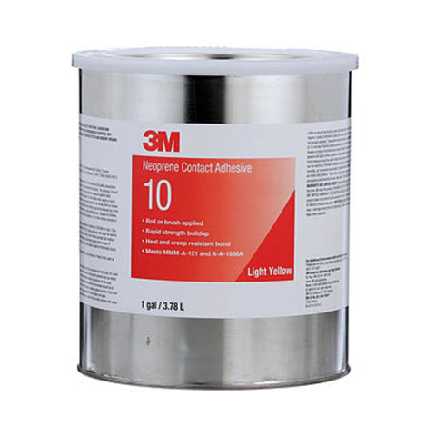 3M Scotch-Weld Neoprene Contact 10 Lt Ylw, 1 gal