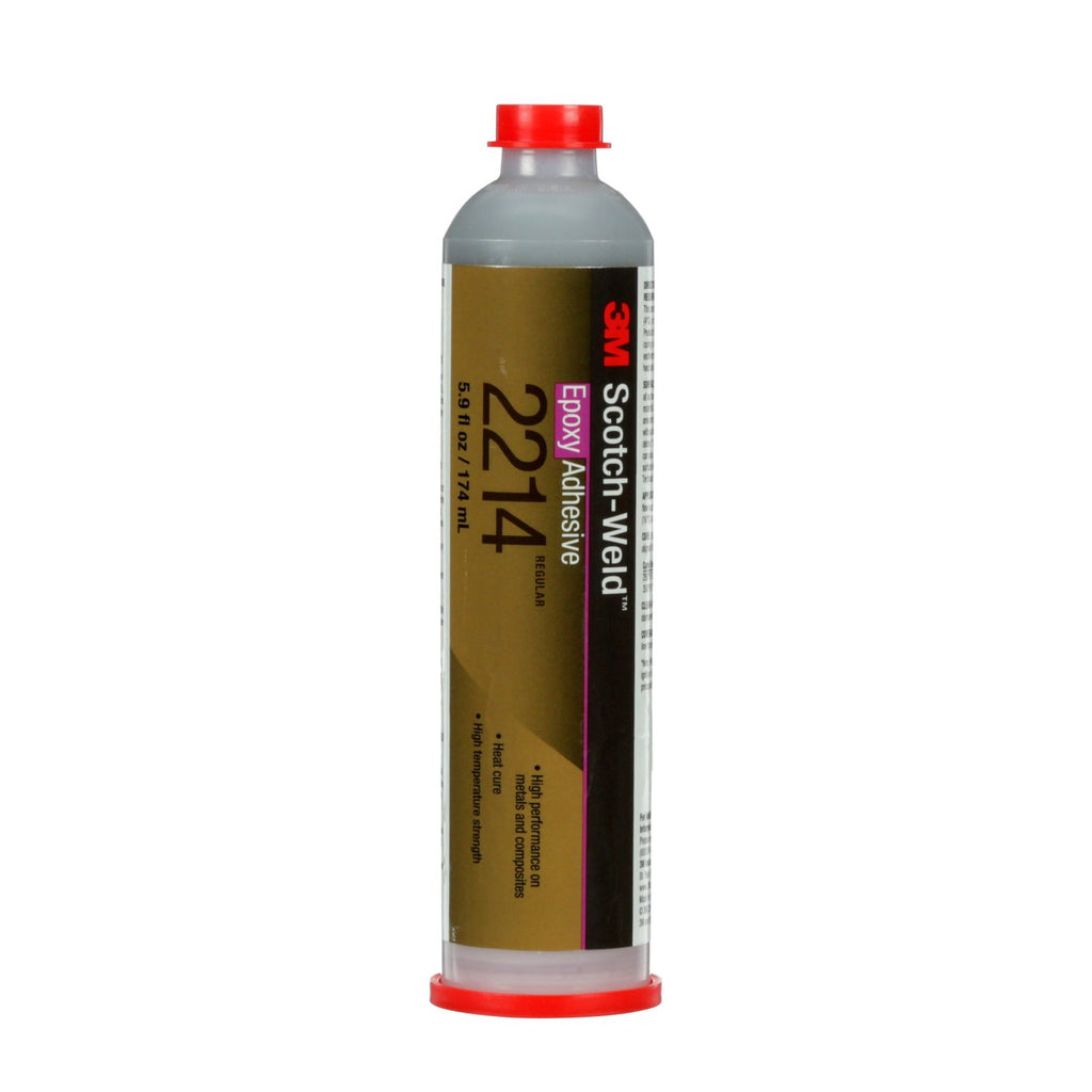 3M Scotch-Weld Epoxy Adhesive 2214 Regular Gray, 5 gal pail