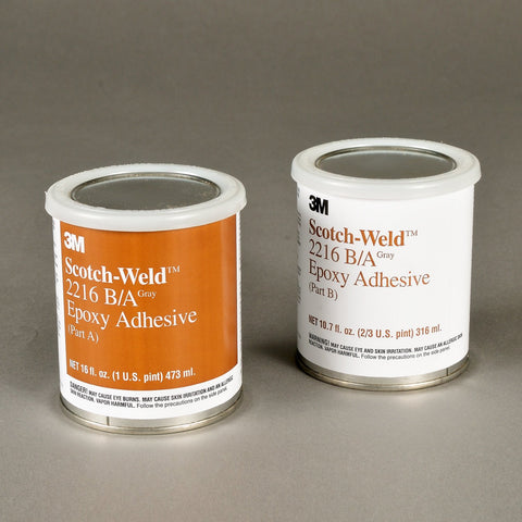 3M Scotch-Weld Epoxy Adhesive 2216 Gray B/A, 1 pt Kit