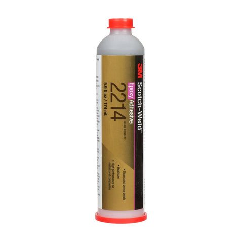3M Scotch-Weld Epoxy Adhesive 2214 Hi-Density Gray, 6 oz Plastic
