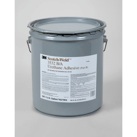 3M Scotch-Weld Urethane Adhesive 3532 White Part B, 5 gal pail