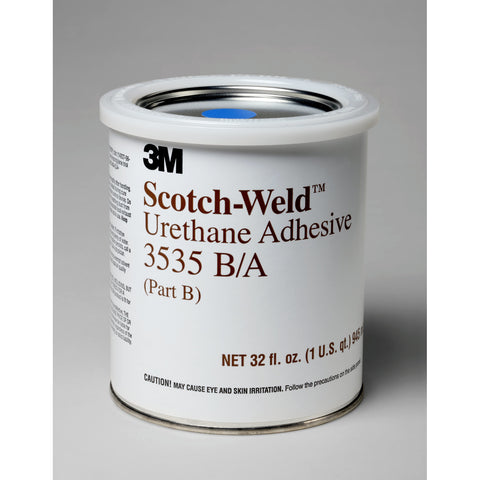 3M Scotch-Weld Urethane Adhesive 3535 Off-White B/A qt Kit