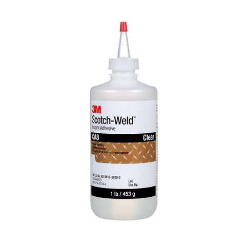 3M Scotch-Weld Instant Adhesive CA8, 1 lb/453 g Bottle