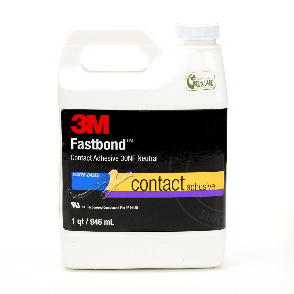 3M Fastbond 30NF Contact Adhesive Neutral, 1 qt, 12 per case